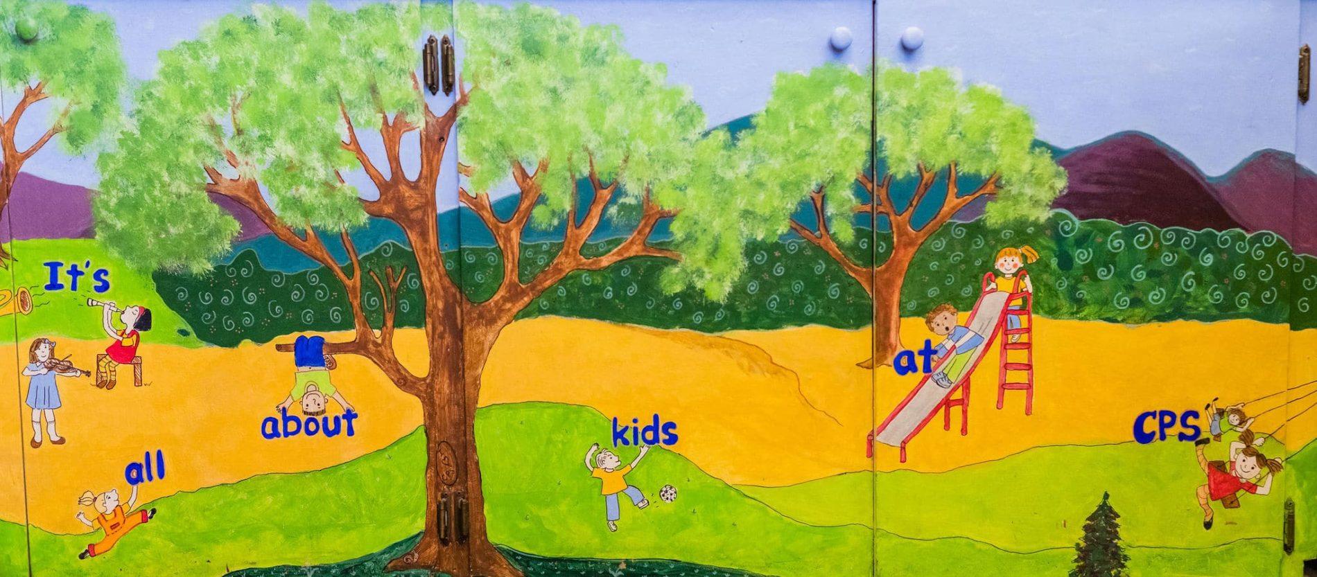 duckies mural